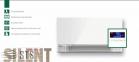 Пристенный тонкий фанкойл  SILENT MCFS-220T2 0