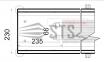 Внутрипольные конвекторы с естественной конвекции Polvax KE.230.120 0