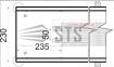Внутрипольные конвекторы с естественной конвекции Polvax KE.230.67 0