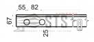 Внутрипольные конвекторы с естественной конвекции Polvax KE.230.67 1