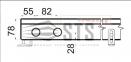 Внутрипольные конвекторы с естественной конвекции Polvax KE.230.78 2