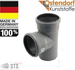 Тройник канализационный 87° Ostendorf