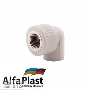 Угол с внутренней резьбой Alfa Plast