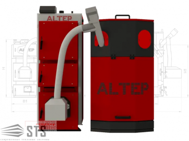 Котел на твердом топливе Duo Uni Pellet 150 кВт ALTEP (с горелкой ECO-Palnik )