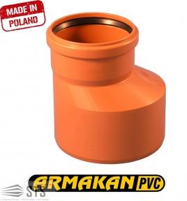 Редукция канализационная наружная ARMAKAN ПП 160х110
