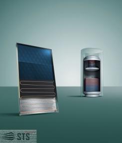 Плоский солнечный коллектор (вертикальный монтаж) auroTHERM VFK 125/3 Vaillant