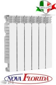 Радиатор алюминиевый NOVA FLORIDA Extra Therm Super Aleternum 500/100 мм