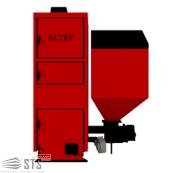 Котел на твердом топливе Duo Pellet N 40 кВт ALTEP (заказная модель)