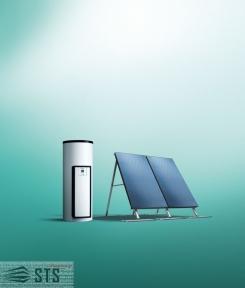 Солнечная система  Vaillant auroSTEP / 4 plus 1.150 HF