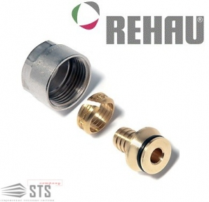 Соединение резьбовое для Rehau RAUTITAN flex/his/pink