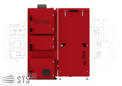 Котел на твердом топливе Duo Pellet 75 кВт ALTEP