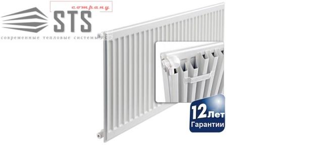 Стальной панельный радиатор AIRFEL 11 тип 500 боковое подкючение