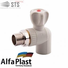 Кран Радиаторный Alfa Plast угловой