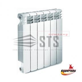 Радиатор алюминиевый Esperado Intenso R 500/80 мм