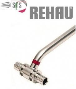 Трубка Т-образная  (нержавеющая) Rehau RAUTITAN для подключения радиаторов