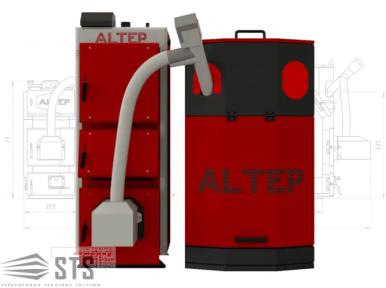 Котел на твердом топливе Duo Uni Pellet 33 кВт ALTEP (с горелкой Altep)