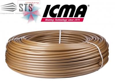 Труба для теплого пола ICMA Gold-PEX-a 16х2,0 мм (с кислородным барьером)