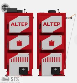 Котлы на твердом топливе Classic Plus 30 кВт ALTEP (автоматика)