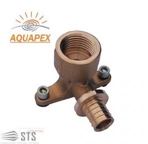 Колено  настенное для арматуры (водорозетка) Golan «AQUAPEX»