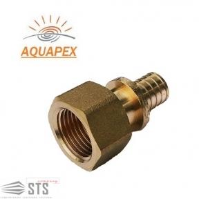 Патрубок (штуцер) с внутренней резьбой Golan «Aqua-Pex»