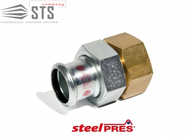 Сборка стальная оцинкованная (отопление) STEELPRES® RM