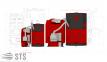 Котел на твердом топливе Trio Uni Pellet 250 кВт ALTEP ( с горелкой Kvit )